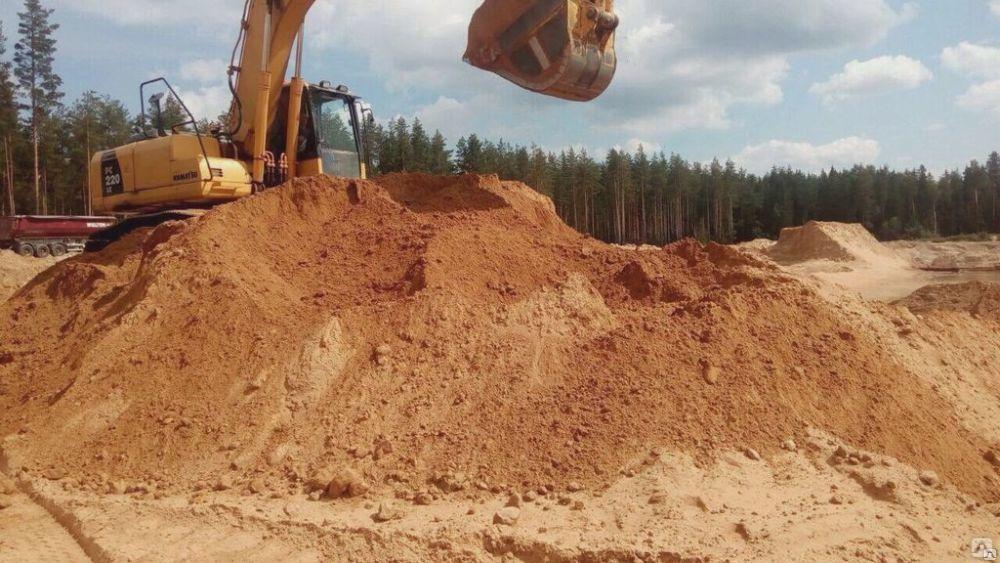 Песок с доставкой от производителя в Апрелевке.